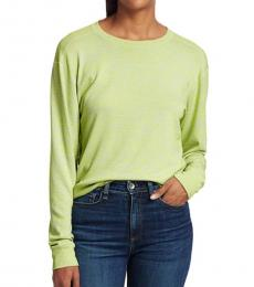 Rag And Bone Lime Green Long-Sleeve Pullover