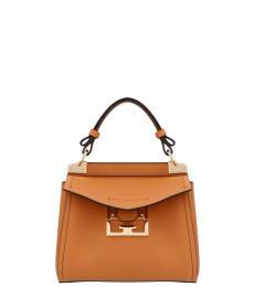 Givenchy Brown Mystic Mini Satchel