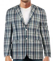 Ralph Lauren Blue Two-Button Blazer