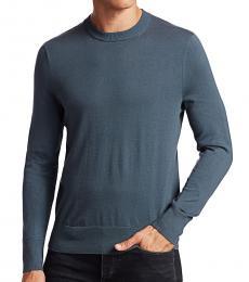 Navy Blue Barrow Crewneck Sweater
