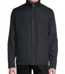 Calvin Klein Navy Blue Full-Zip Jacket