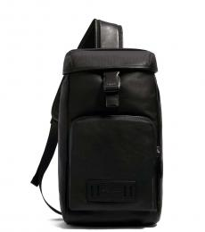 Coach Black Medium Ranger Pack