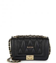 Mario Valentino Black Beatriz D Small Shoulder Bag
