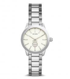 Silver Collins Logo Watch