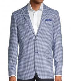 Ben Sherman Light Blue Standard-Fit Mini Coat