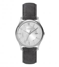 Versace Grey Silver Logo Modish Watch