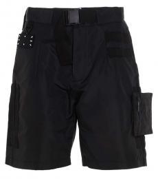 McQ Alexander McQueen Black Modular Shorts