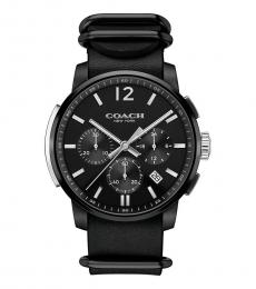 Coach Black Bleecker Chronograph Watch