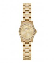 Marc Jacobs Golden Amy Crystal Watch
