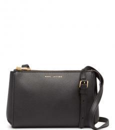 Marc Jacobs Black Commuter Medium Crossbody Bag