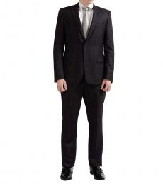 Versace Collection Brown Two Button Suit