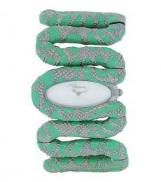 Light Green Cleopatra Snake Watch