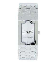 Silver Beehive Analog Watch