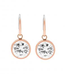 Rose Gold Brilliance Crystal Earrings