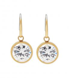 Michael Kors Gold Crystal Drop Earrings