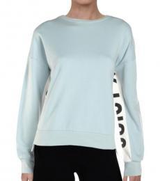 Juicy Couture Morning Mist Logo Side-Panel Sweatshirt