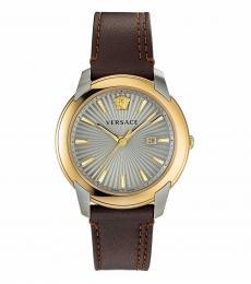 Versace Brown V-Urban Watch