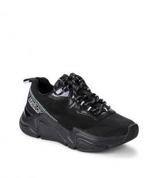 Black Chunky Sneakers