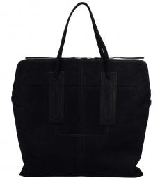 Black Jumbo Large Tote