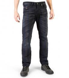 Diesel Navy Blue Buster Regular Fit Jeans