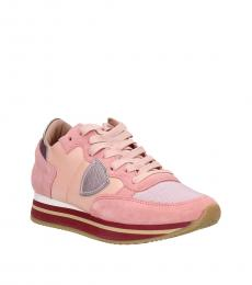 Pink Iconic Sneakers