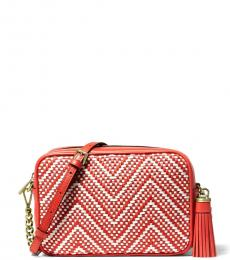 Michael Kors Terra Cotta Ginny Small Crossbody