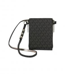 Michael Kors Black Logo Fanny Belt Bag