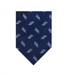 Ralph Lauren Navy Blue Traditional Tie