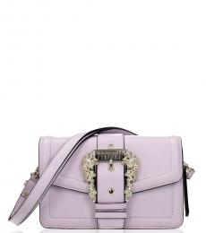 Light Pink Belt Medium Shoulder Bag