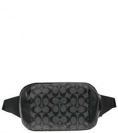 Charcoal Signature Graham Waist Bag