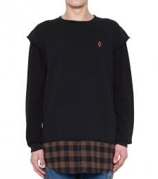Black Dogo Long Sweatshirt