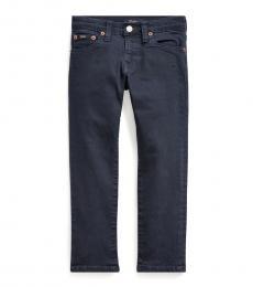 Little Boys Navy Sullivan Slim Stretch Jeans