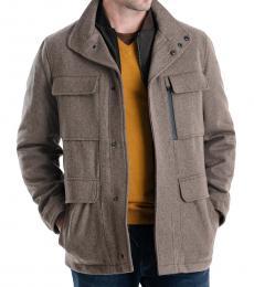 Michael Kors Rice Mix Mayfield Field Coat