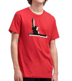 Red Liberty Graphic T-Shirt