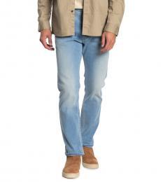 Diesel Light Blue Akee Straight Jeans