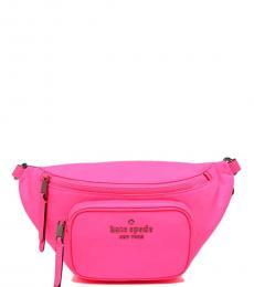 Radiant Pink Dorien Waist Belt Bag