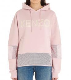 Kenzo Pink Logo Hoodie