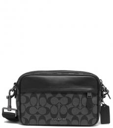 Coach Charcoal Graham Large Crossbody