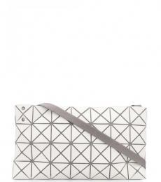 Bao Bao Issey Miyake White Prism Frost Small Shoulder Bag