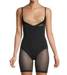 DKNY Black All-In-One Underbust Bodysuit