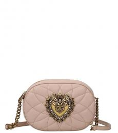 Dolce & Gabbana Natural Pink Devotion Mini Crossbody