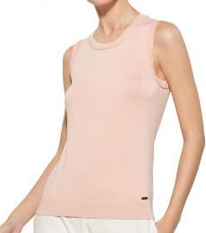 Calvin Klein Blush Hardware Sweater Vest