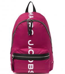 Marc Jacobs Sweet Azalea Suspiria Logo Print Large Backpack