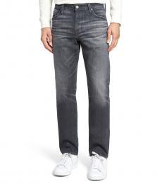 AG Adriano Goldschmied Grey Everett Slim Straight Jeans
