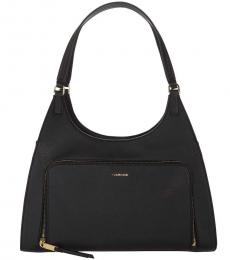 Calvin Klein Black Ava Large Hobo