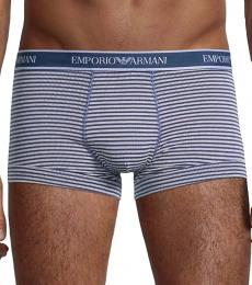 Emporio Armani Blue 2-Pack Striped Boxer Briefs