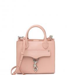 Rebecca Minkoff Light Pink Megan Mini Satchel
