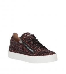 Giuseppe Zanotti Ciocco Glitter Low Top Sneakers