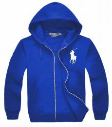 Ralph Lauren Royal Silver Big Pony Hoodie Jacket