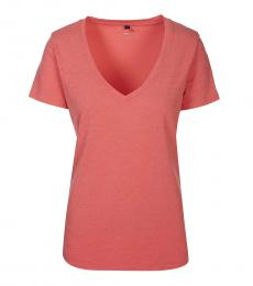 Armani Jeans Salmon Scoop Neck Tee